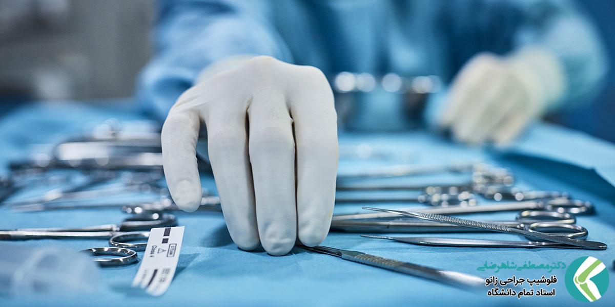 علل بروز عفونت زخم در جراحی های ارتوپدی و پیشگیری از آن