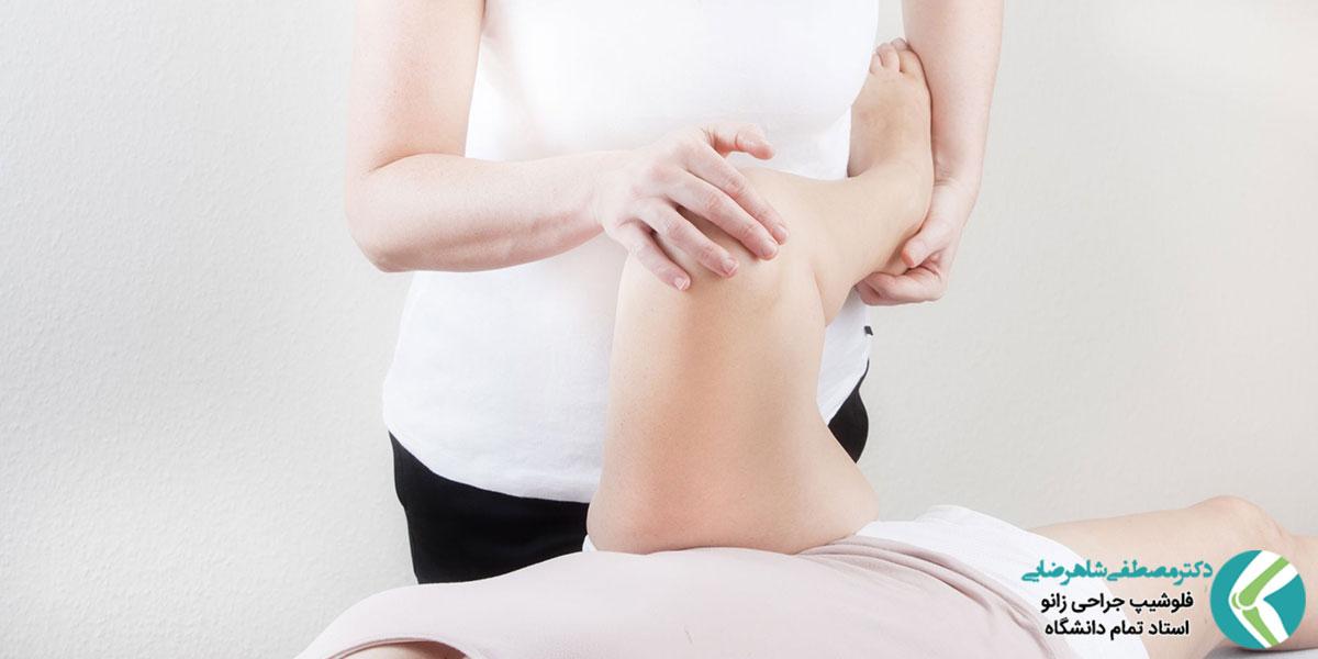 علائم گیر افتادگی مفصل ران